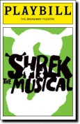 Playbill Shrek